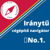 Iránytű cégépítő navigátor No.1