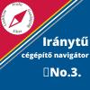 Iránytű cégépítő navigátor No.3